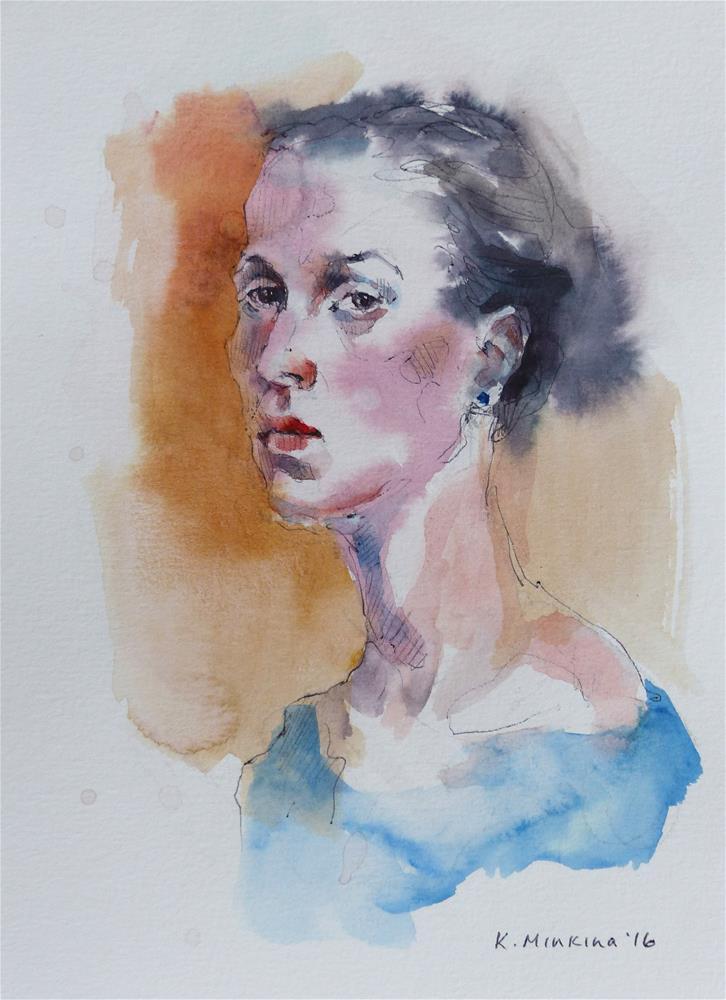"""sketchbook#29"" original fine art by Katya Minkina"