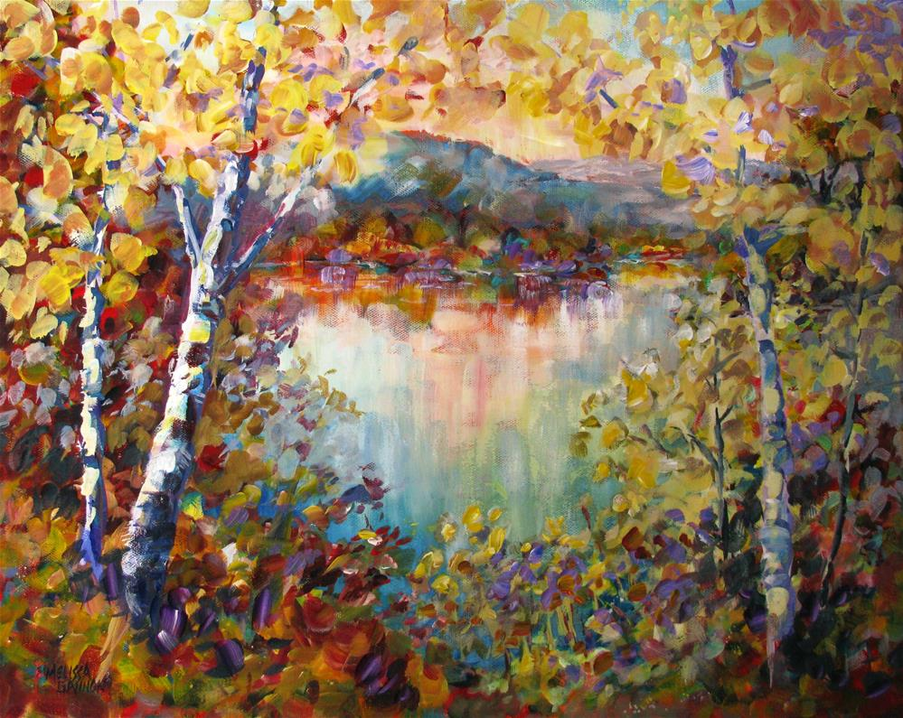 """Season of Many Colors"" original fine art by Melissa Gannon"