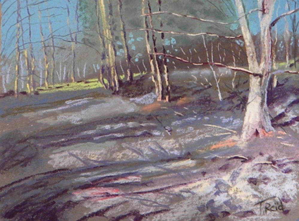 """Buford tral"" original fine art by Toby Reid"