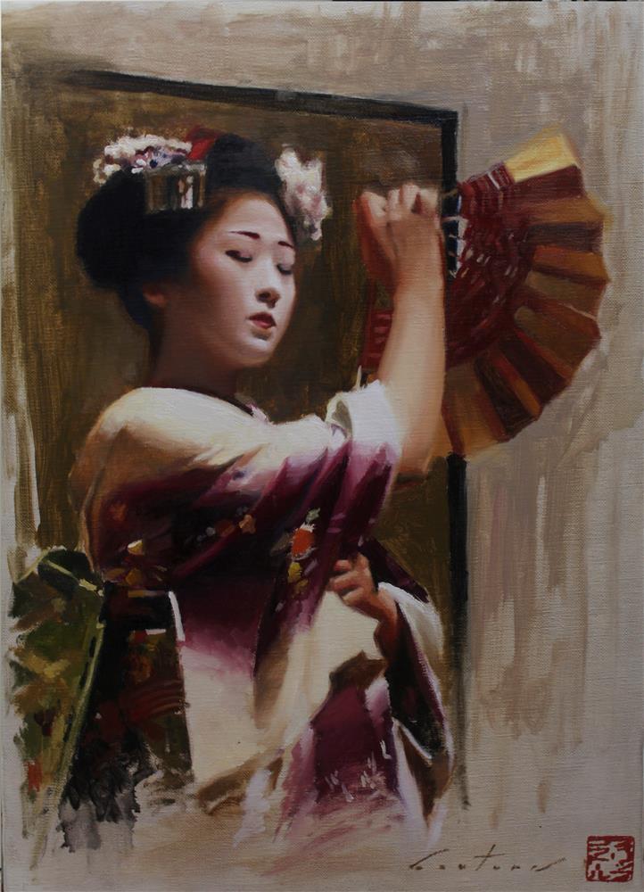 """""""Haru no Odori"""" original fine art by Phil Couture"""