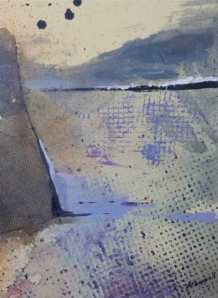 """Minimal"" original fine art by Becky Chappell"