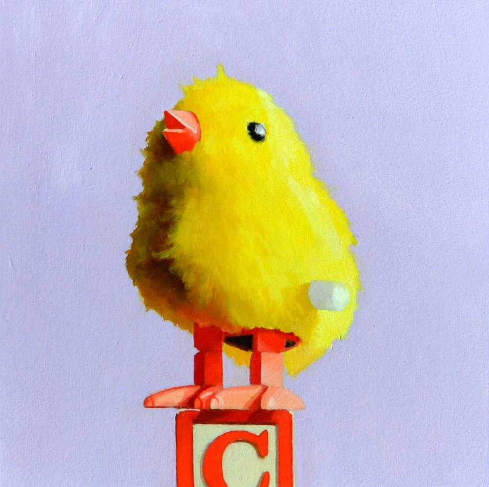 """Cheep Cheep"" original fine art by Brian Burt"