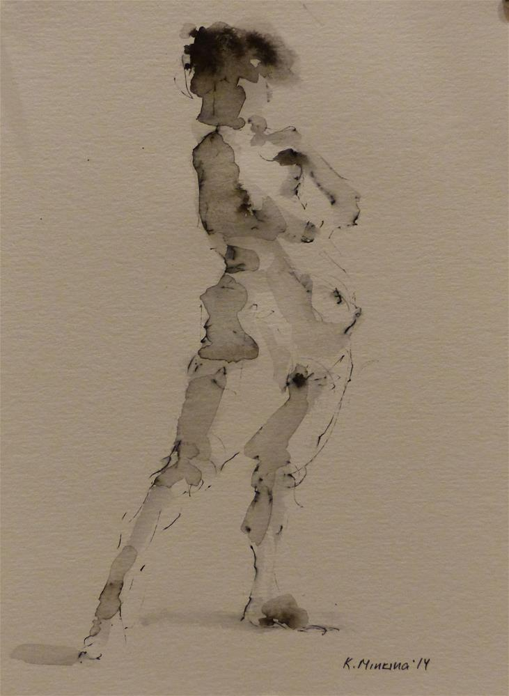 """nude6"" original fine art by Katya Minkina"