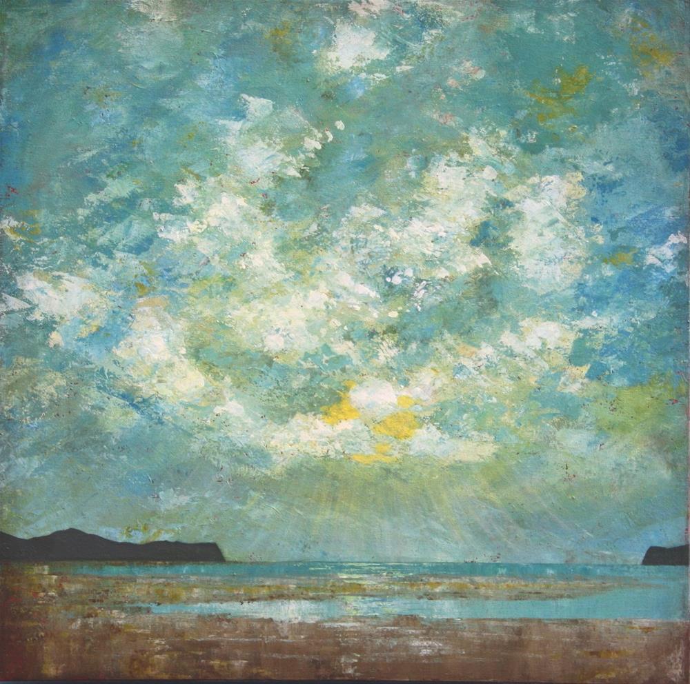 """Beach View"" original fine art by Sage Mountain"
