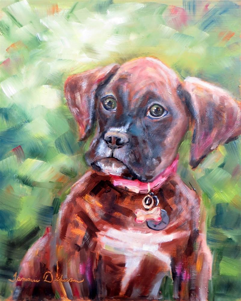 """Ruby in Carmel"" original fine art by Tammie Dickerson"