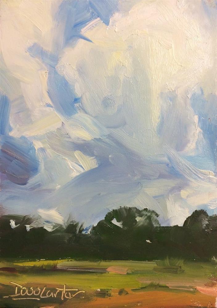 """"""" HEIGTHS """" original fine art by Doug Carter"""