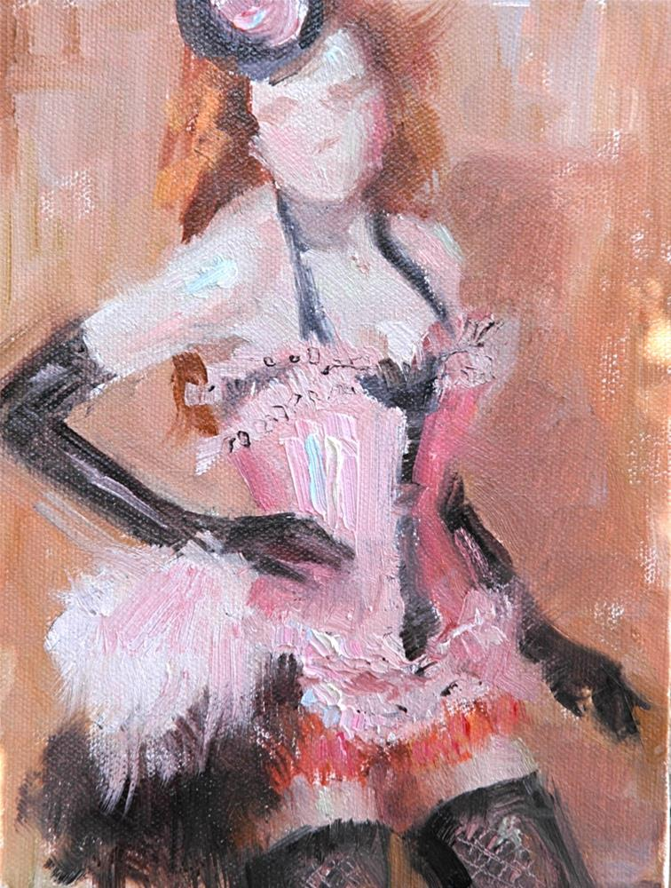 """Moulin Rouge"" original fine art by Johanna Spinks"