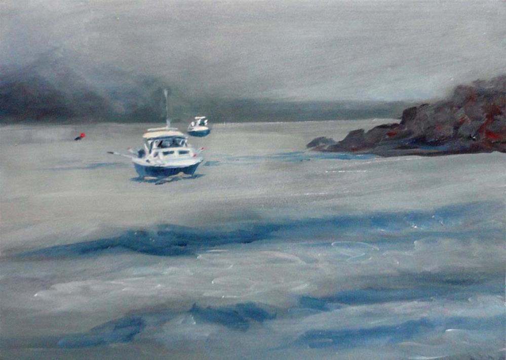 """Returning To The Cove"" original fine art by Cietha Wilson"