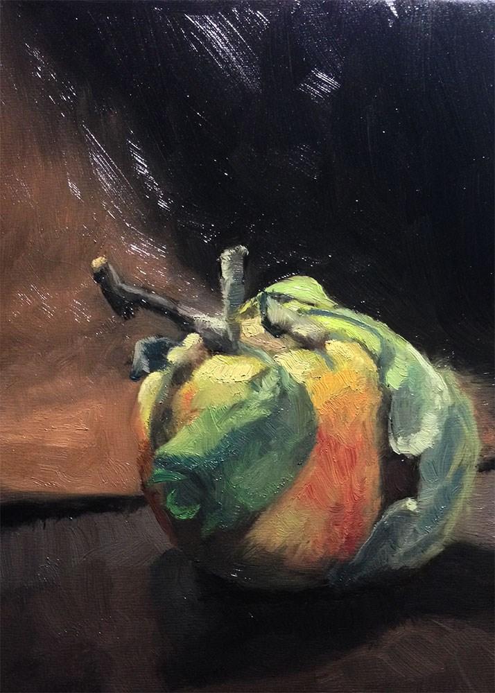 """""""Wild Grown Apple"""" original fine art by Chris Beaven"""