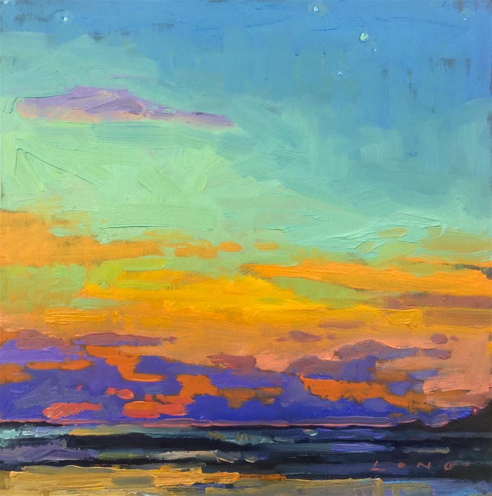 """Hermosa Beach, CA"" original fine art by Chris Long"