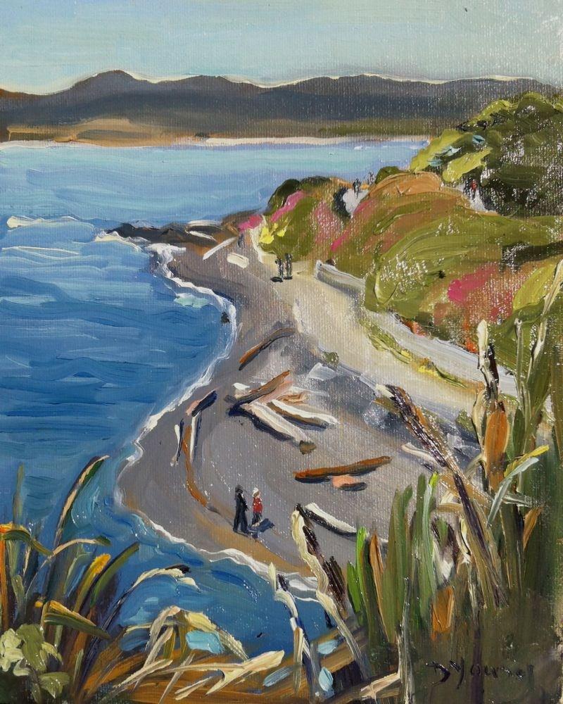 Fonyo Beach original fine art by Darlene Young