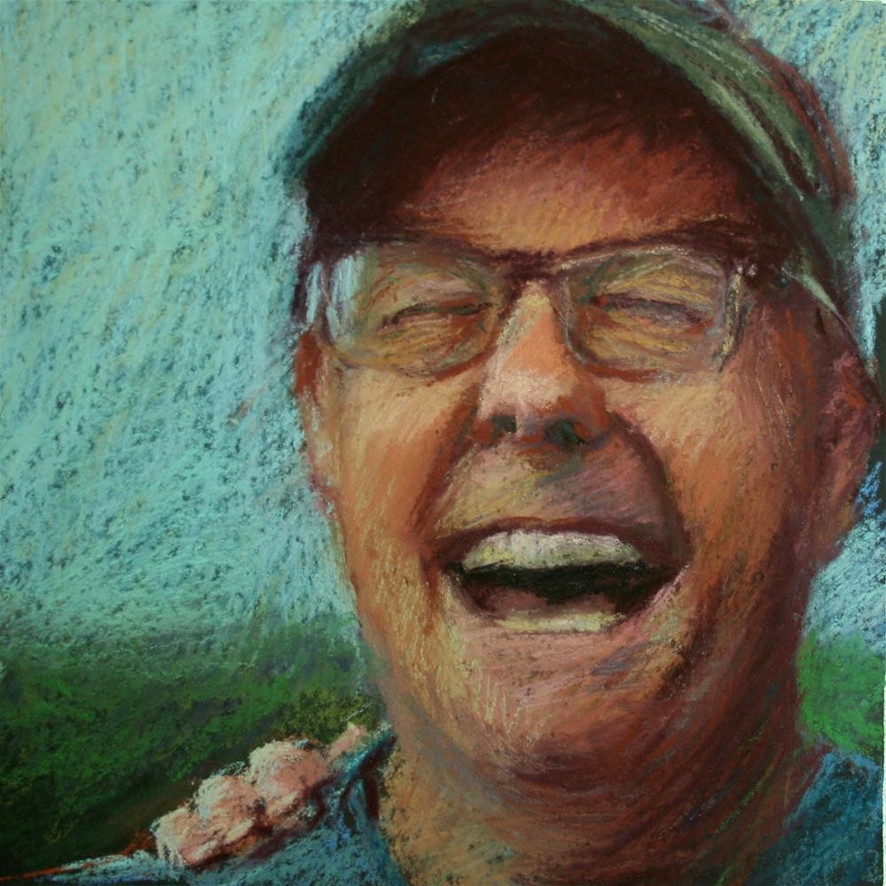 """""""Joy"""" original fine art by Janet Zabilski"""