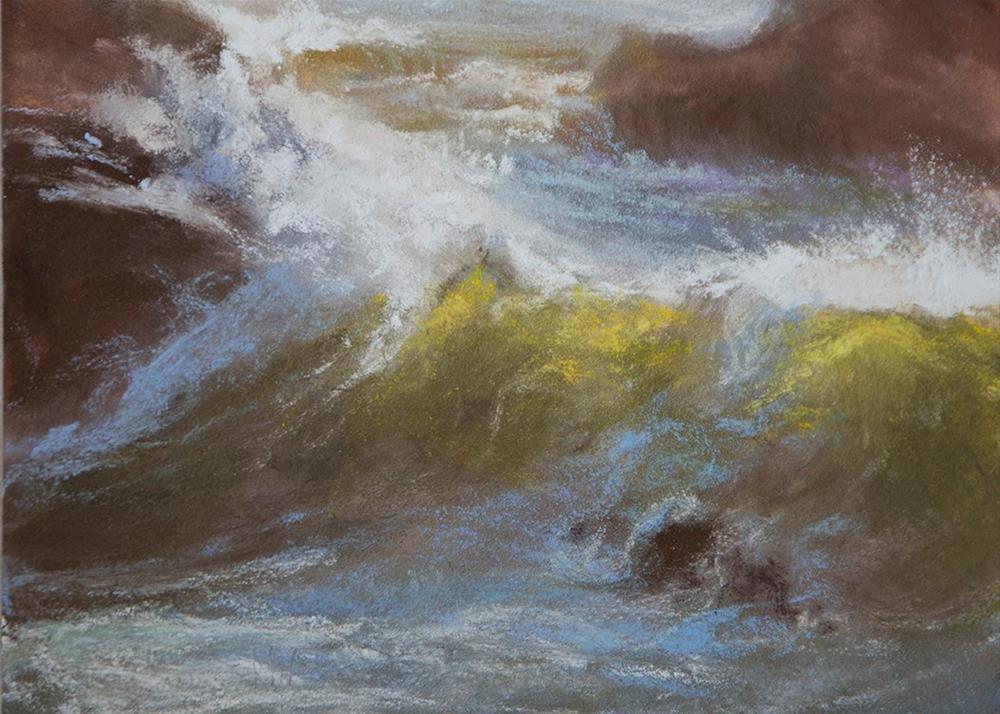 """Light Capture - study"" original fine art by Sandy Byers"