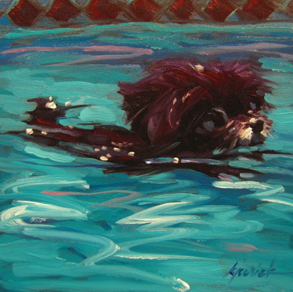 """Minnie"" original fine art by Karin Jurick"