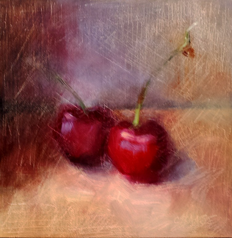 """For PI"" original fine art by Cindy Haase"
