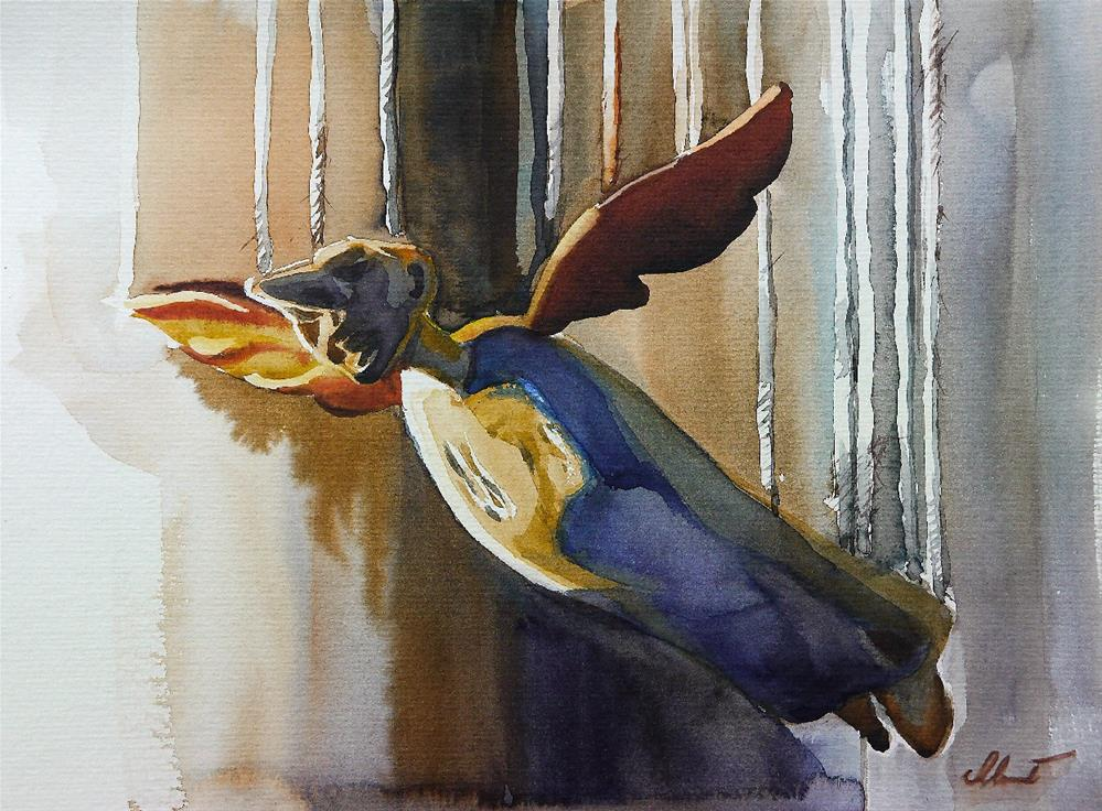 """Angel"" original fine art by Beata Musial-Tomaszewska"