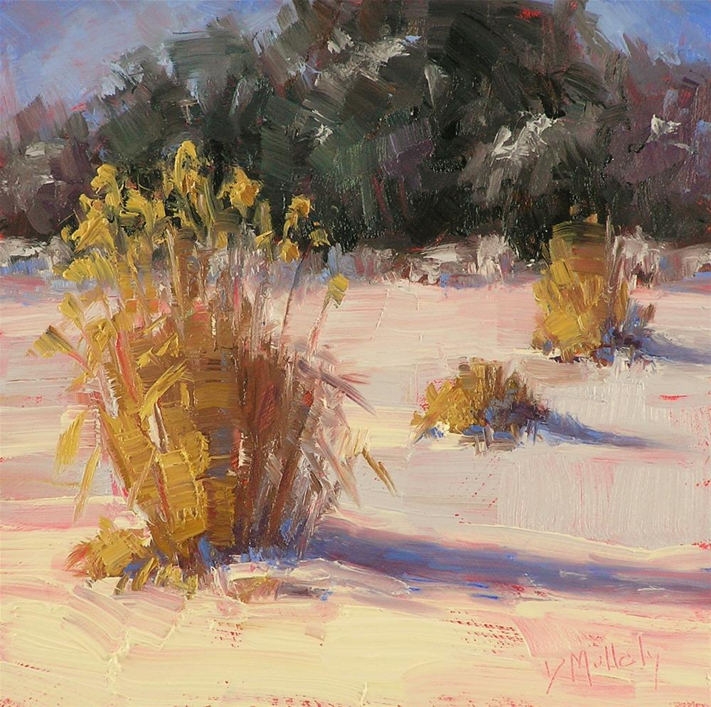 """Snow!"" original fine art by Diane DuBois Mullaly"