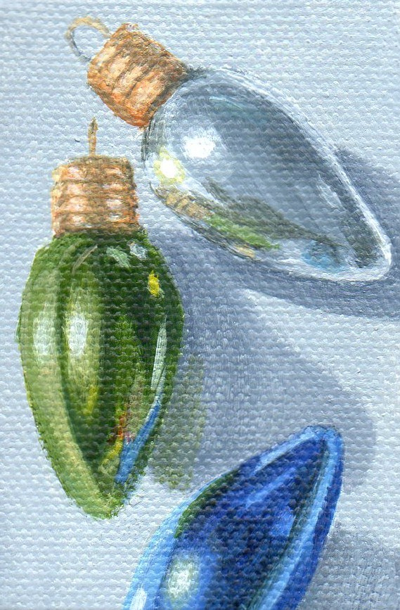 """Ornament #27"" original fine art by Debbie Shirley"