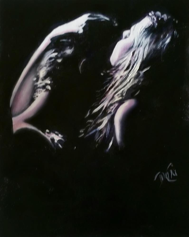 """""""I Love You"""" original fine art by Dana C"""