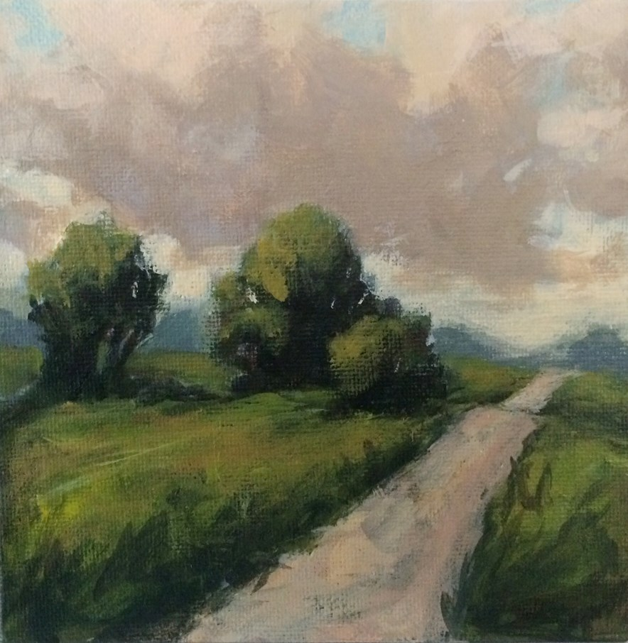 """Story Road"" original fine art by Shannon Bauer"