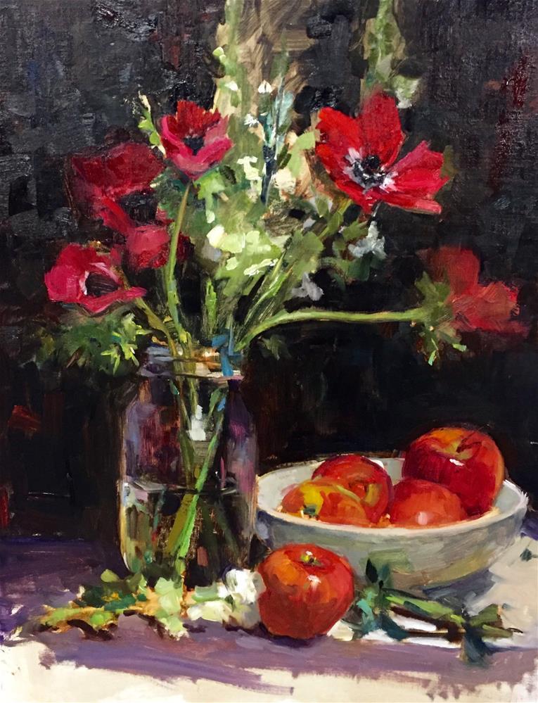 """""""A Joy to Paint"""" original fine art by Laurie Johnson Lepkowska"""