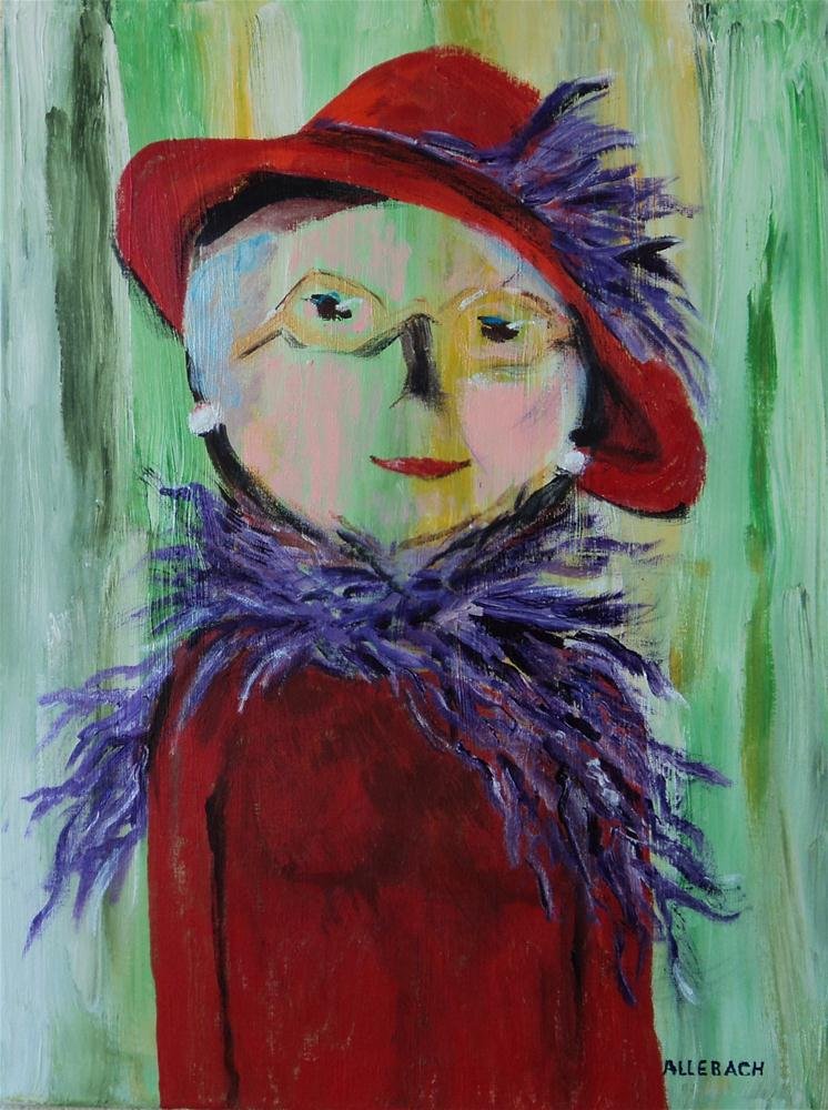 """Marcie's Grandmother"" original fine art by Jo Allebach"