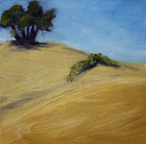 """Texas Scape 4"" original fine art by Jane Frederick"