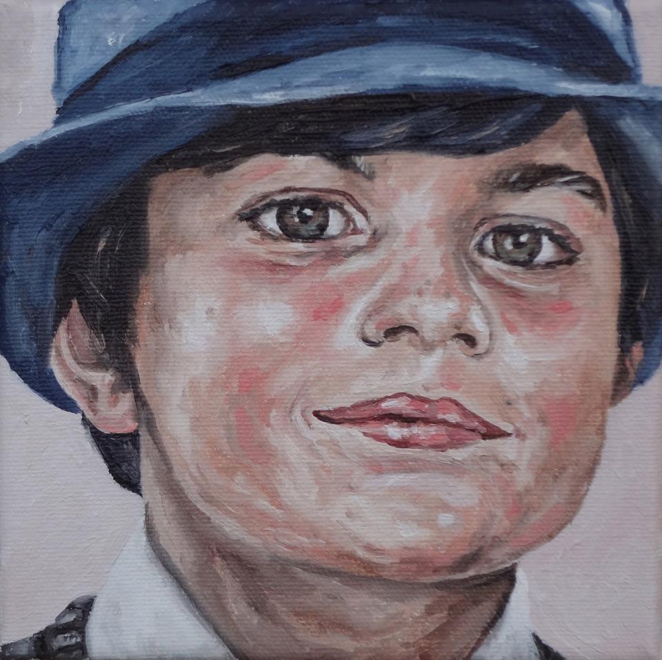 """Boy II"" original fine art by Jacinthe Rivard"