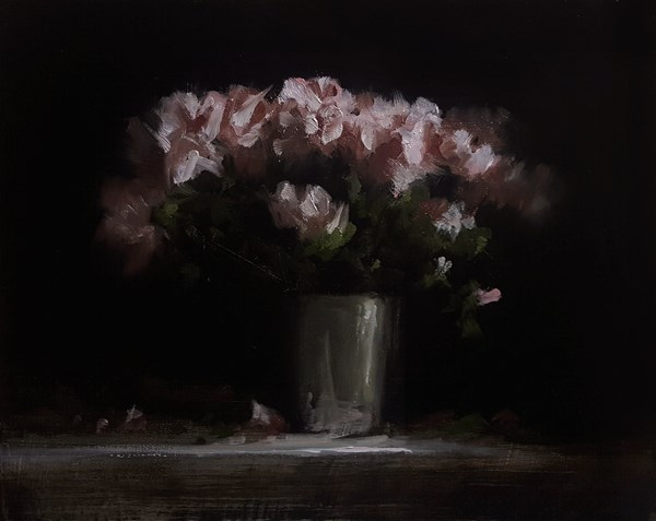 """Azaleas"" original fine art by Neil Carroll"