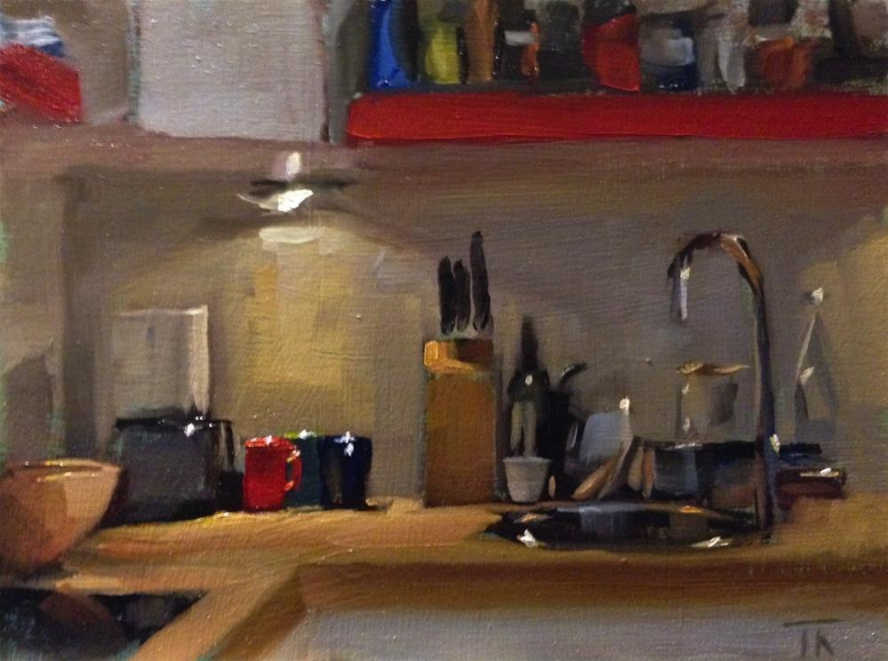 """Kitchen Complexity"" original fine art by Thomas Ruckstuhl"