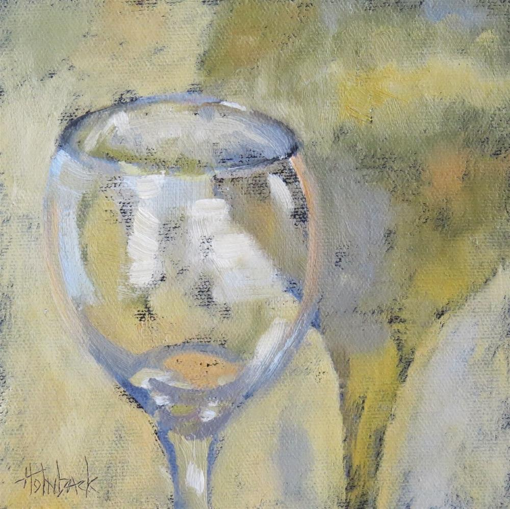 """Come Share The Wine"" original fine art by Pam Holnback"