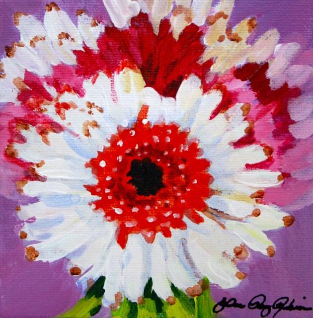 """Gerber Baby"" original fine art by JoAnne Perez Robinson"