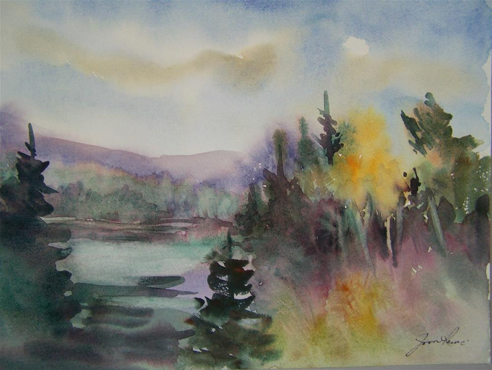 """Fall Mist"" original fine art by Joan Reive"