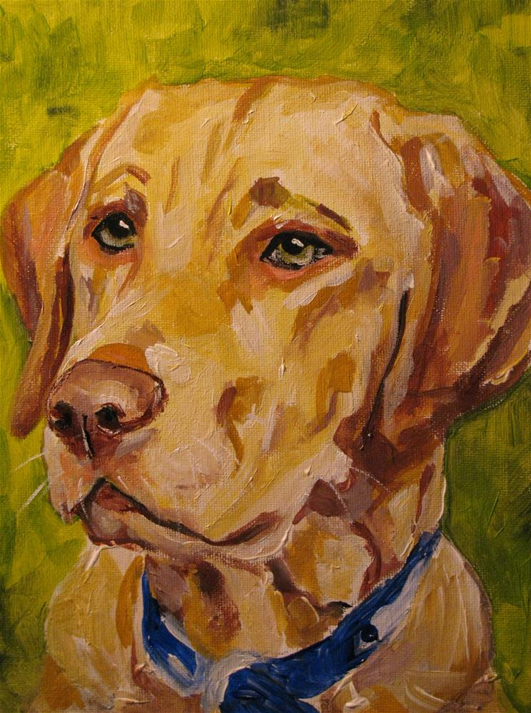 """Tucker"" original fine art by Susan Elizabeth Jones"