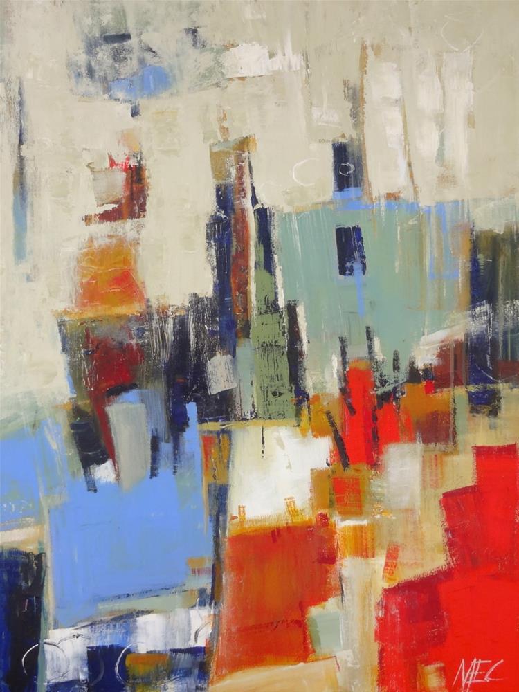 """Zaza"" original fine art by Elizabeth Chapman"
