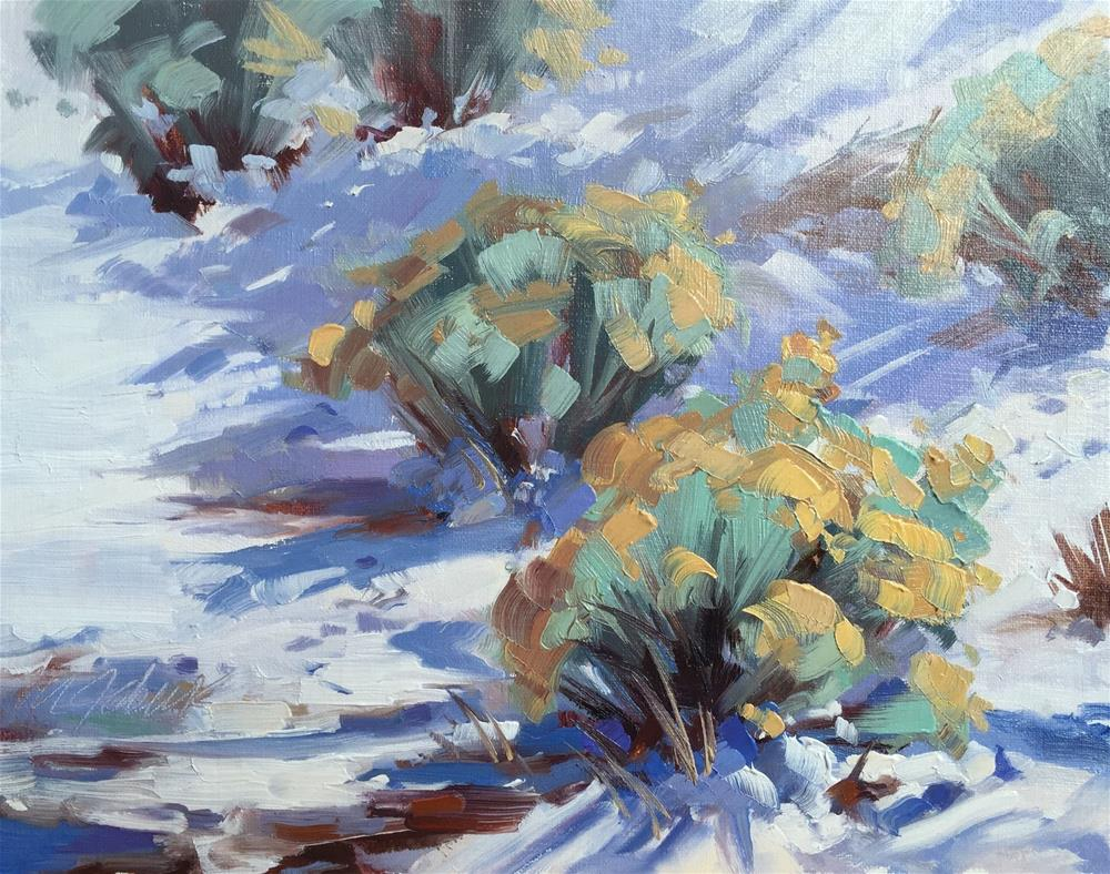 """Afternoon Sage"" original fine art by Mary Jabens"