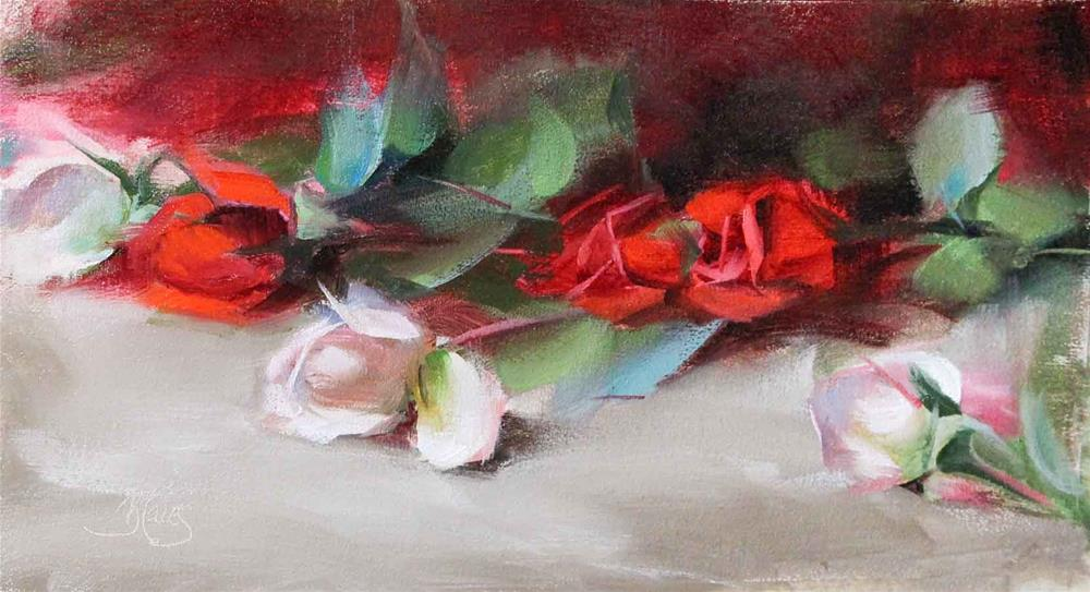 """Roses"" original fine art by Pamela Blaies"
