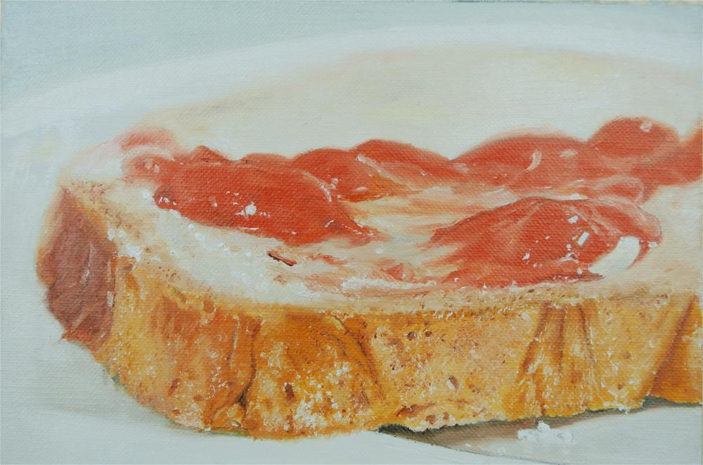 """Bread and Jam"" original fine art by James Coates"
