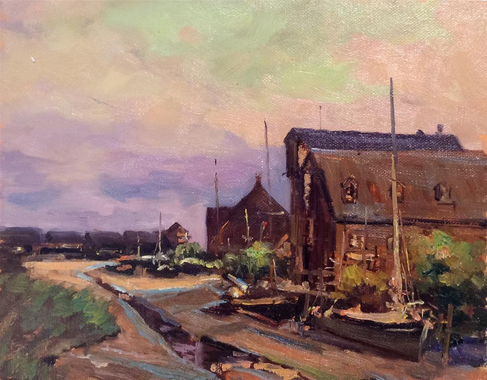 """A Day At Faversham"" original fine art by John Shave"