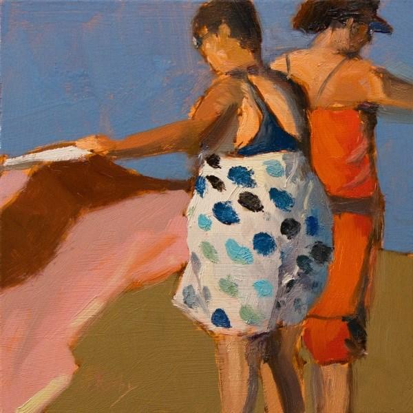 """""""Towels"""" original fine art by Randall Cogburn"""