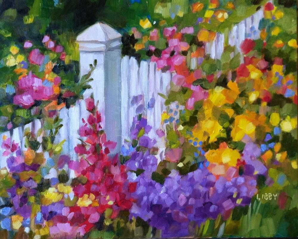 """Garden Glory"" original fine art by Libby Anderson"