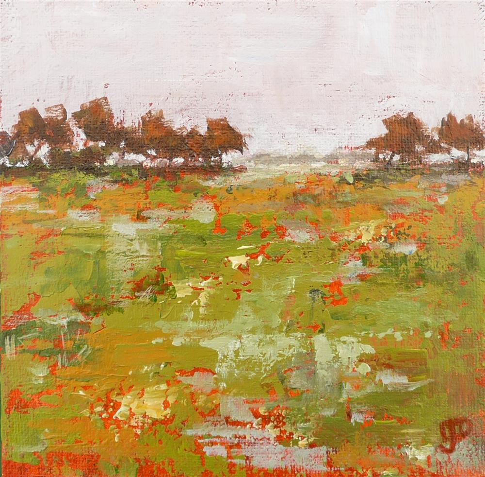 """Through The Trees"" original fine art by Leanne Owen"