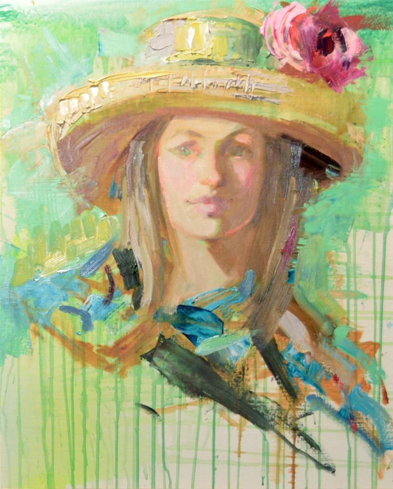 """Perfection"" original fine art by Johanna Spinks"