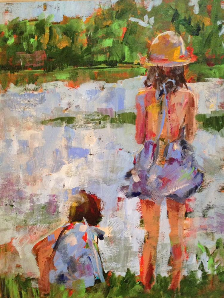 """Sisterhood"" original fine art by Molly Wright"