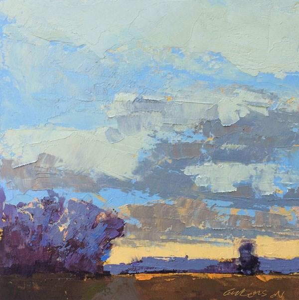"""Grey Winter Skies"" original fine art by Mary Gilkerson"