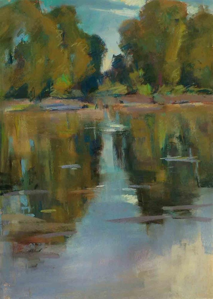"""Willamette River Rhapsody"" original fine art by Patti McNutt"