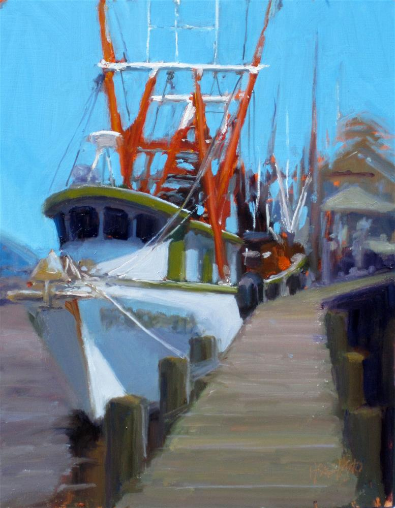 """shrimp boat"" original fine art by Dan Graziano"