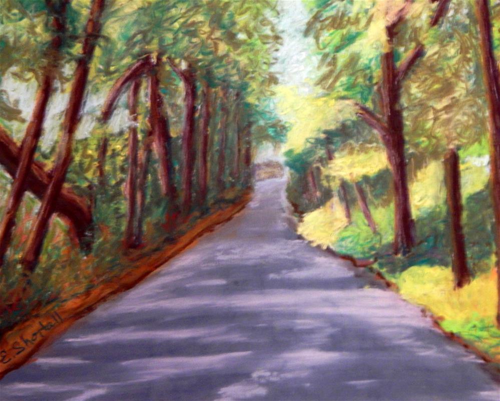 """Kingston Road Series #3"" original fine art by Elaine Shortall"