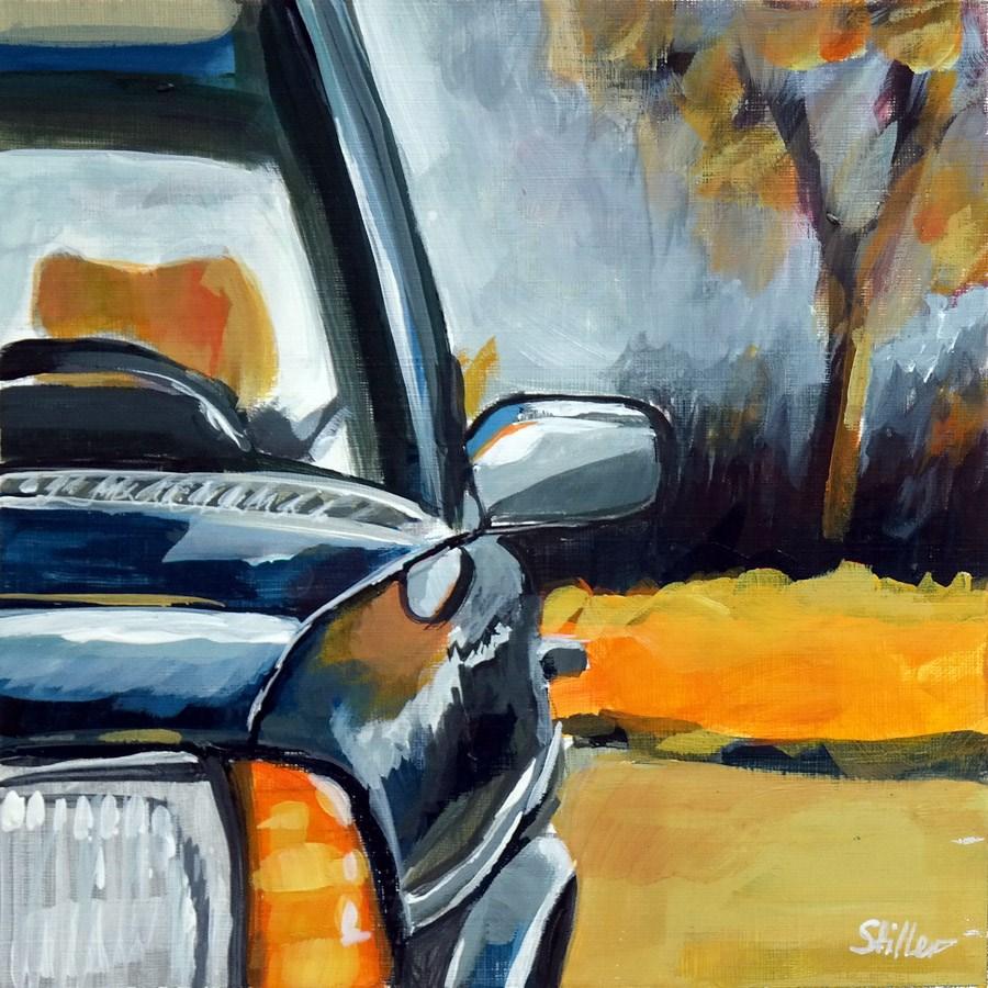 """""""1831 Mercedes Classic"""" original fine art by Dietmar Stiller"""