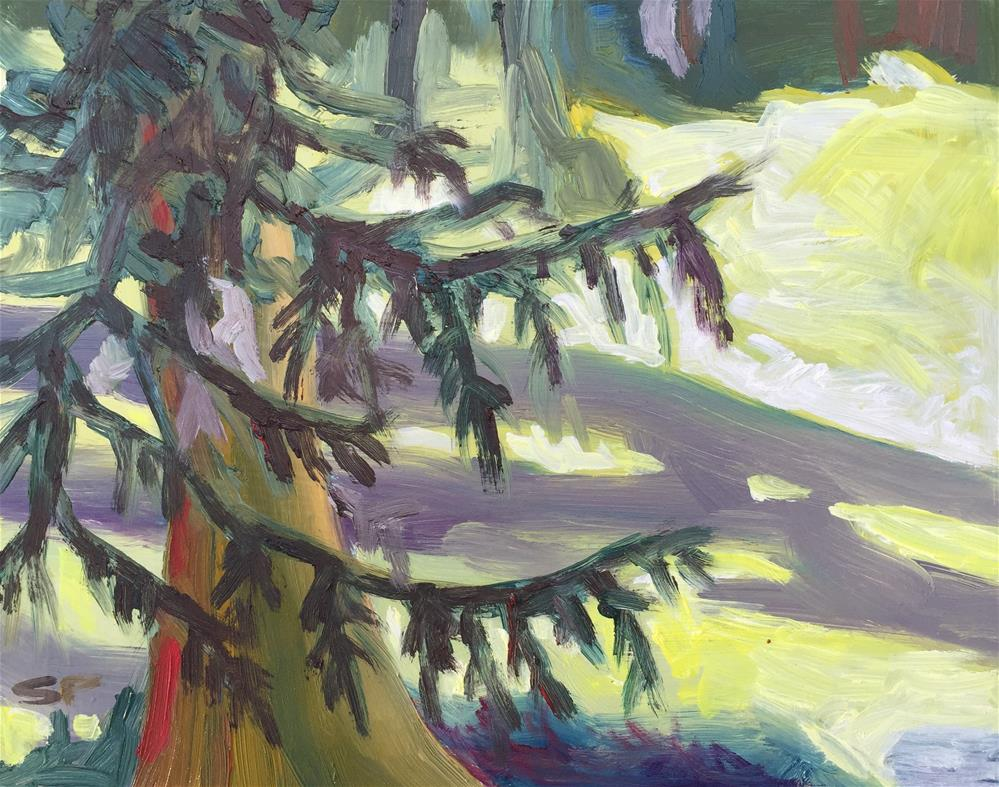 """Jones Island"" original fine art by Sally Posner"